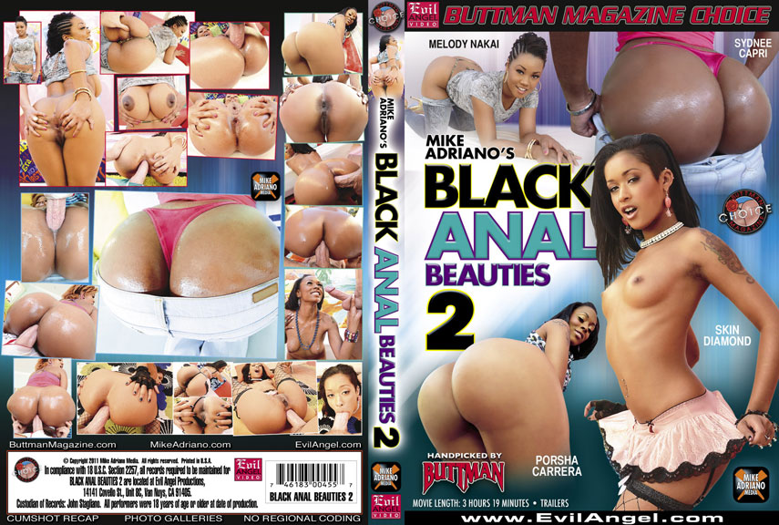 Black Anal Beauties 2 (2011) DVD