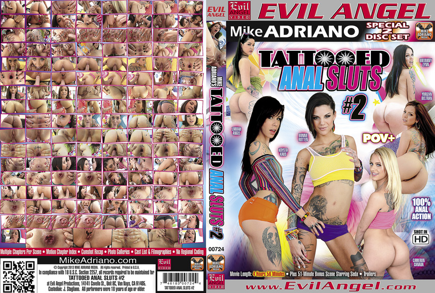 Tattooed Anal Sluts #2 (2013)