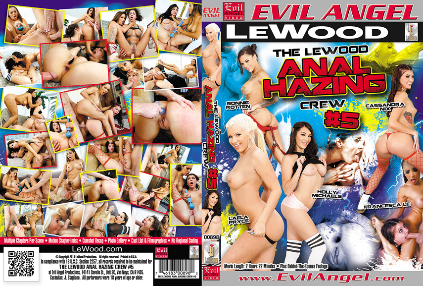 The LeWood Anal Hazing Crew #5 (2014)