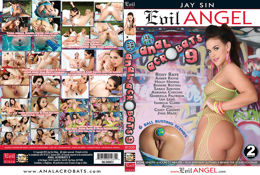 jay sin anal release acrobats