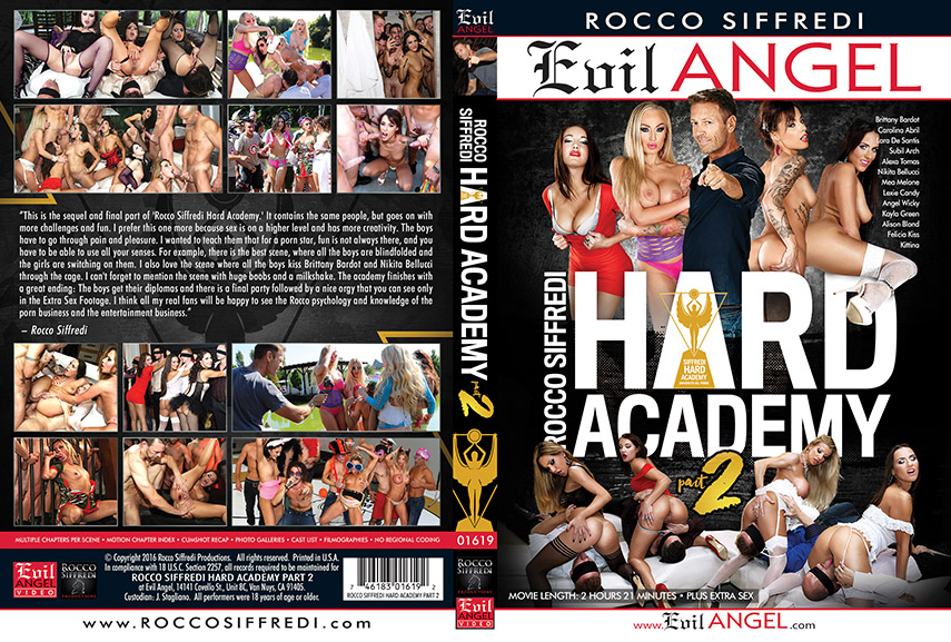 Rocco Siffredi Hard Academy Part 2 (2016)