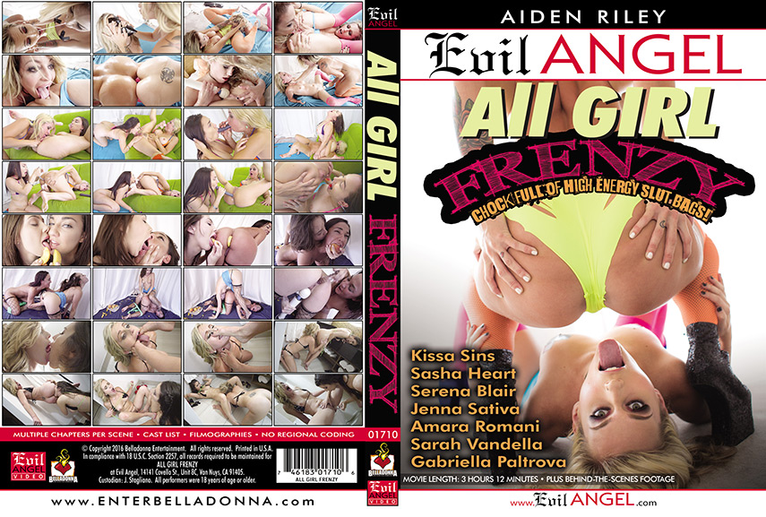 Download All Girl Frenzy (2016)
