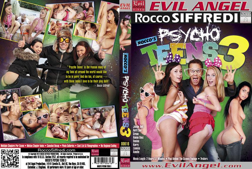 Rocco's Psycho Teens 3 (2012)