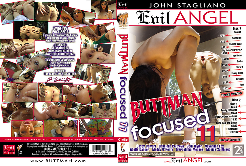Download EvilAngel Buttman Focused 11 (2016)