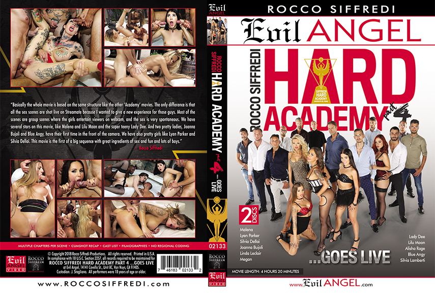 Rocco Siffredi Hard Academy Part 4 ...Goes Live (2018)