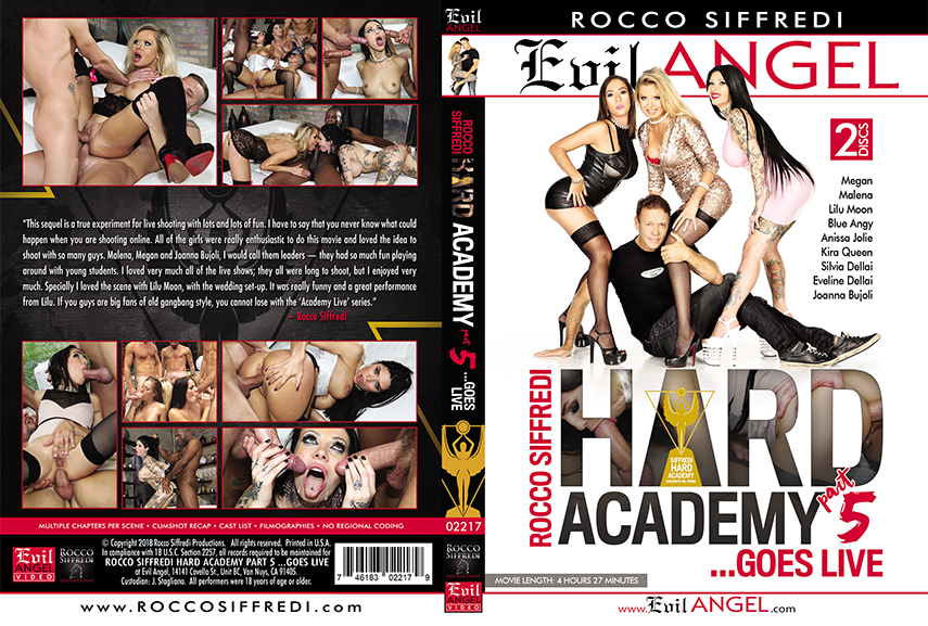 Rocco Siffredi Hard Academy Part 5 ...Goes Live (2018)