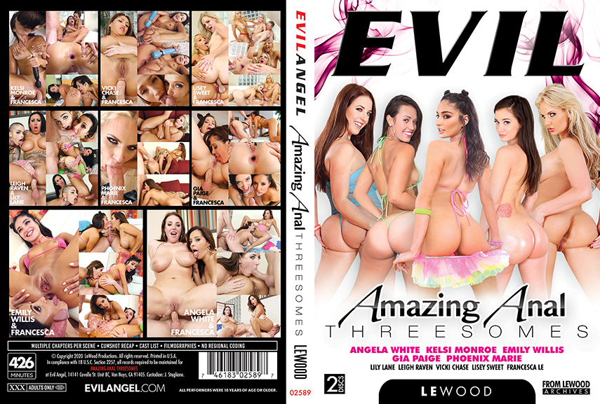 Download Amazing Anal Threesomes (2020)